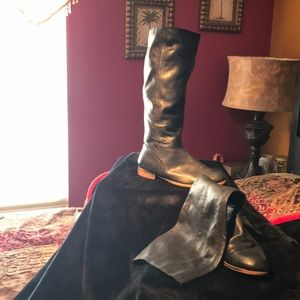 New west vintage america collection pull up boots